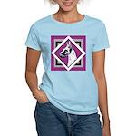 Harlequin Great Dane design Women's Light T-Shirt