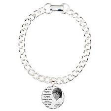 Diana Kindness Quote 3 Bracelet