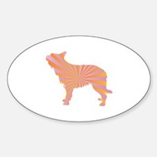 Berger Rays Oval Decal