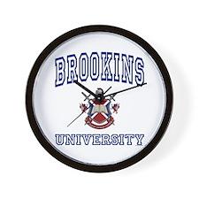 BROOKINS University Wall Clock