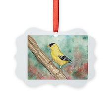 Gold Finch Ornament