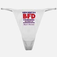 Obamatax BFD Classic Thong