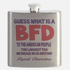 Obamatax BFD Flask