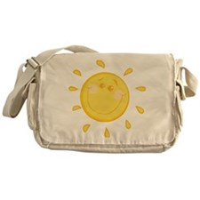 Smiling Sun Messenger Bag