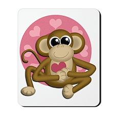 Love Monkey Mousepad