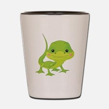 Cute Baby Lizard Shot Glass