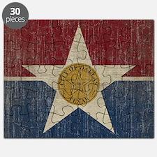 VintageDallasFlag Puzzle