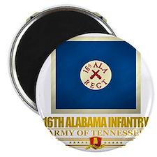 16th Alabama Infantry Magnet