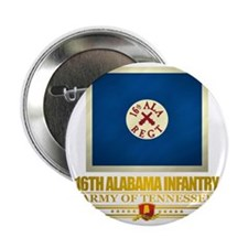 "16th Alabama Infantry 2.25"" Button"