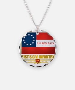 21st SCV Infantry Necklace