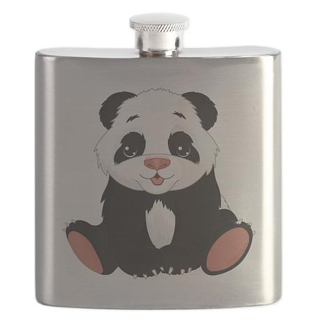 Cute Little Panda Flask