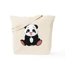 Cute Little Panda Tote Bag
