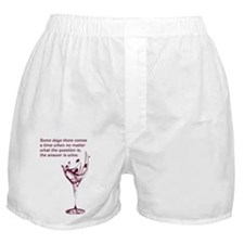 The answer is wine Boxer Shorts