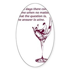 The answer is wine Decal