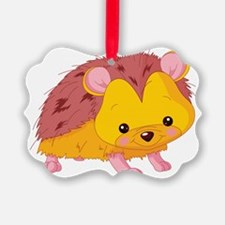 Cute Baby Hedgehog Ornament