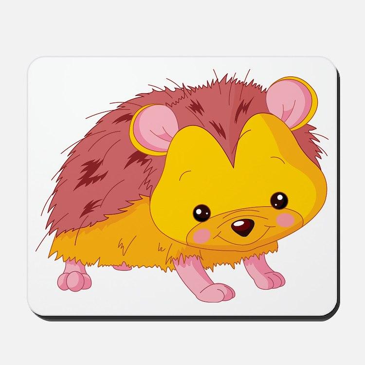 Cute Baby Hedgehog Mousepad
