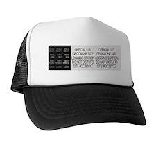Geocache Logging Station Trucker Hat