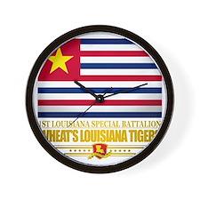 Wheats Louisiana Tigers Wall Clock