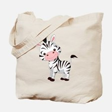 Cute Baby Zebra Tote Bag