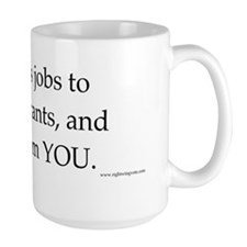 Obama give jobs to illegal immigrants I Mug