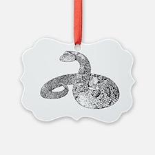 Rattlesnake Ornament