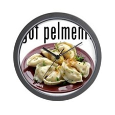 got pelmeni? Wall Clock