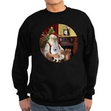 Santas American Eskimo Spitz Sweatshirt