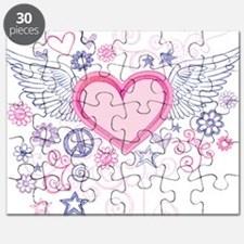 Winged Heart Puzzle