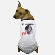 Bunny approved apron Dog T-Shirt