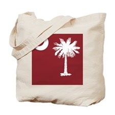 South Carolina Palmetto State Flag  Tote Bag