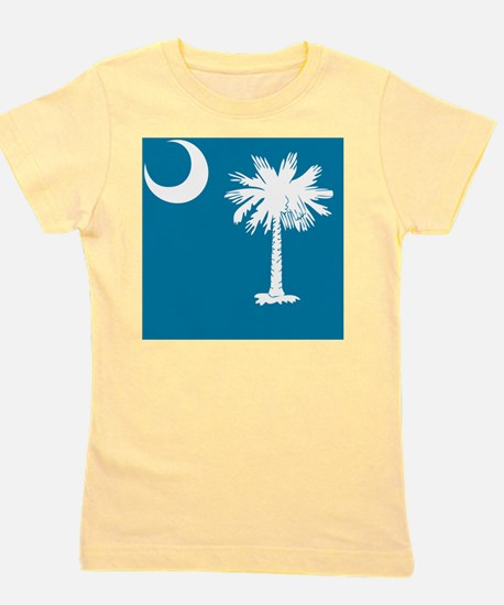 South Carolina Palmetto State Flag  Girl's Tee