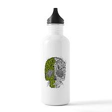 Grunge skull Water Bottle