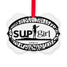 SUPgirl Ornament