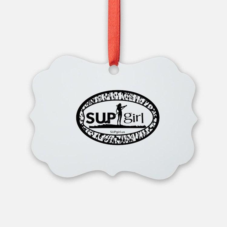 SUPgirl Ornament