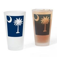 South Carolina Palmetto State Flag  Drinking Glass