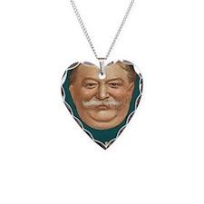 Taft for President Necklace Heart Charm