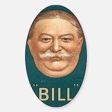 Taft for President Sticker (Oval)