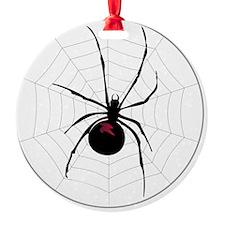 Spider in a web Ornament