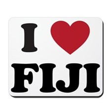 I Love Fiji Mousepad