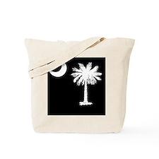 South Carolina Palmetto State Flag Tote Bag
