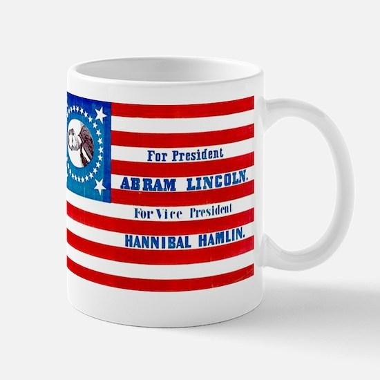 Lincoln Hamlin 1860 Mug