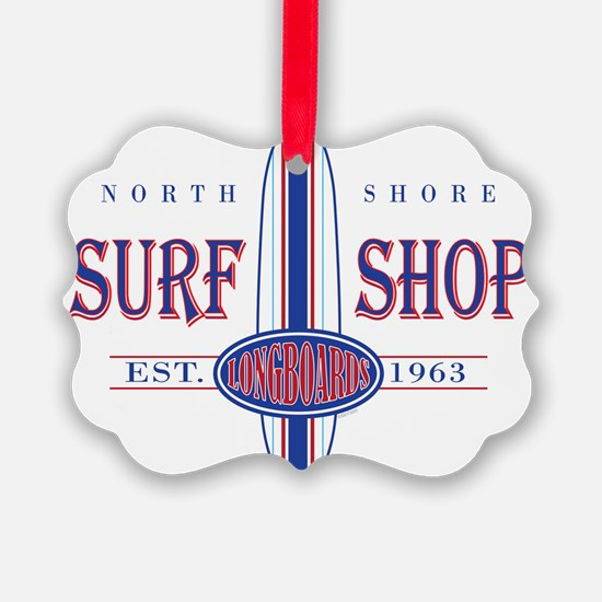 North Shore Surf Shop Ornament