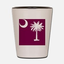 South Carolina Palmetto State Flag  Shot Glass