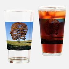 Transcendentalism Drinking Glass