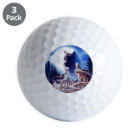 Wolf Pack Golf Balls