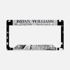 Brian Williams11x17  Poster License Plate Holder