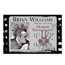 Brian Williams11x17  Post Postcards (Package of 8)