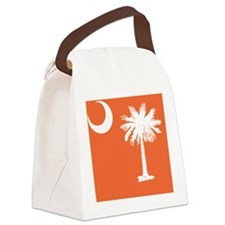 South Carolina State Palmetto Fla Canvas Lunch Bag