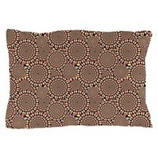 Optical Emulsion Red Pillow Case
