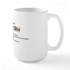 everything guy long mug Mug